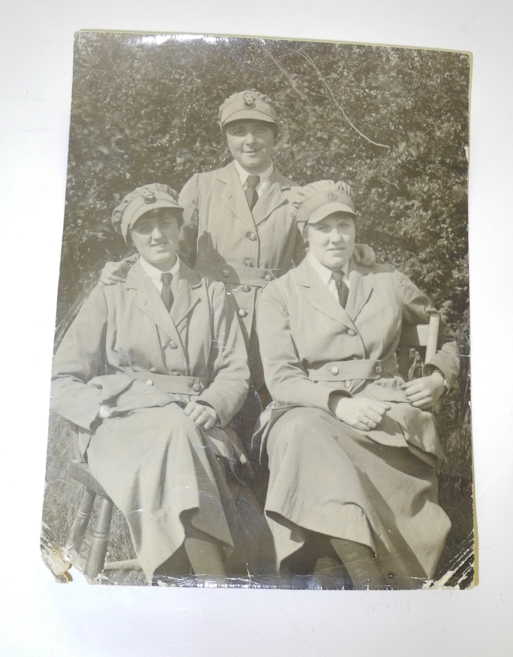 WWI WRAF original photo