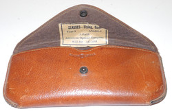 AAF leather case for sunglasses