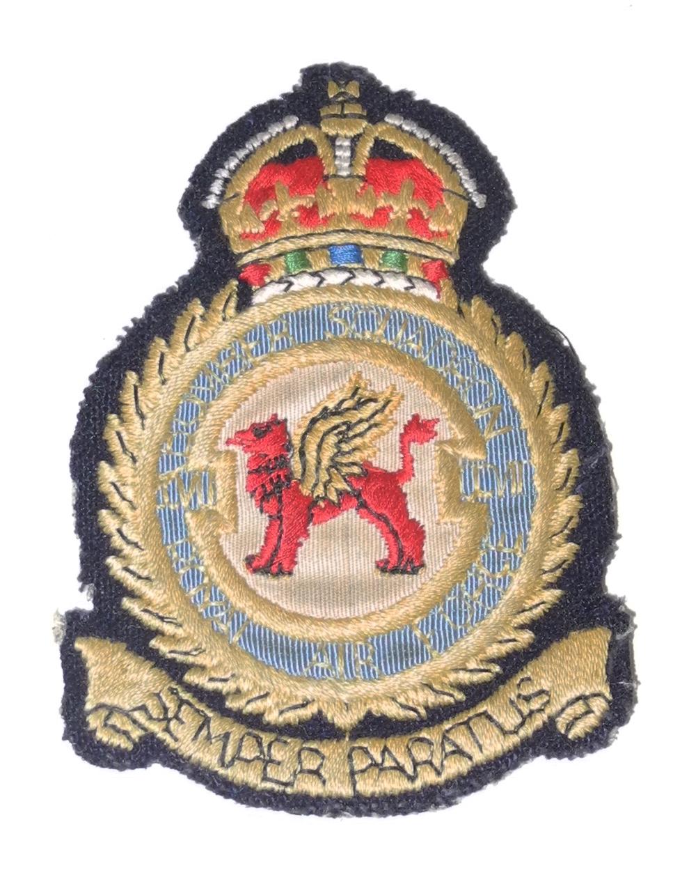 WWII RAF 207 squadron patch - $125