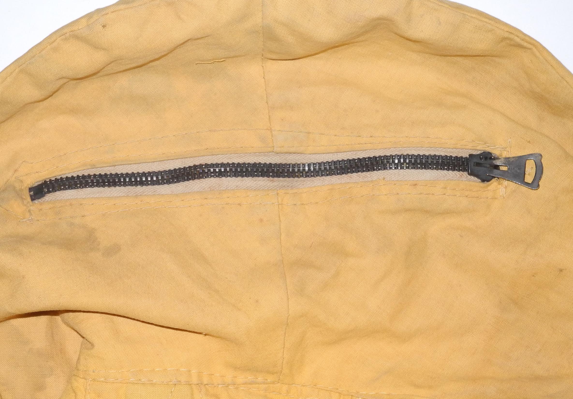 """RAF/RCAF 1932 pattern """"Mae West"""" life jacket in yellow"""