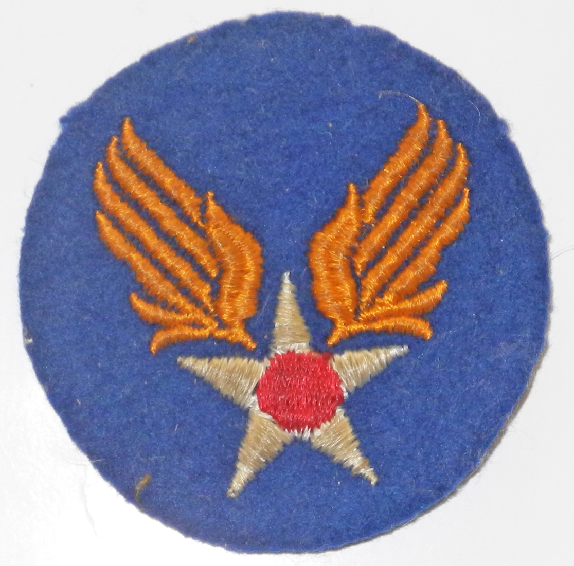 AAF embroidered patch on felt