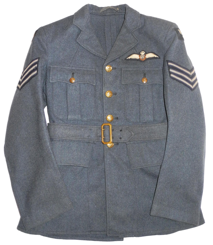 RAF 1940 Sgt Pilot tunic