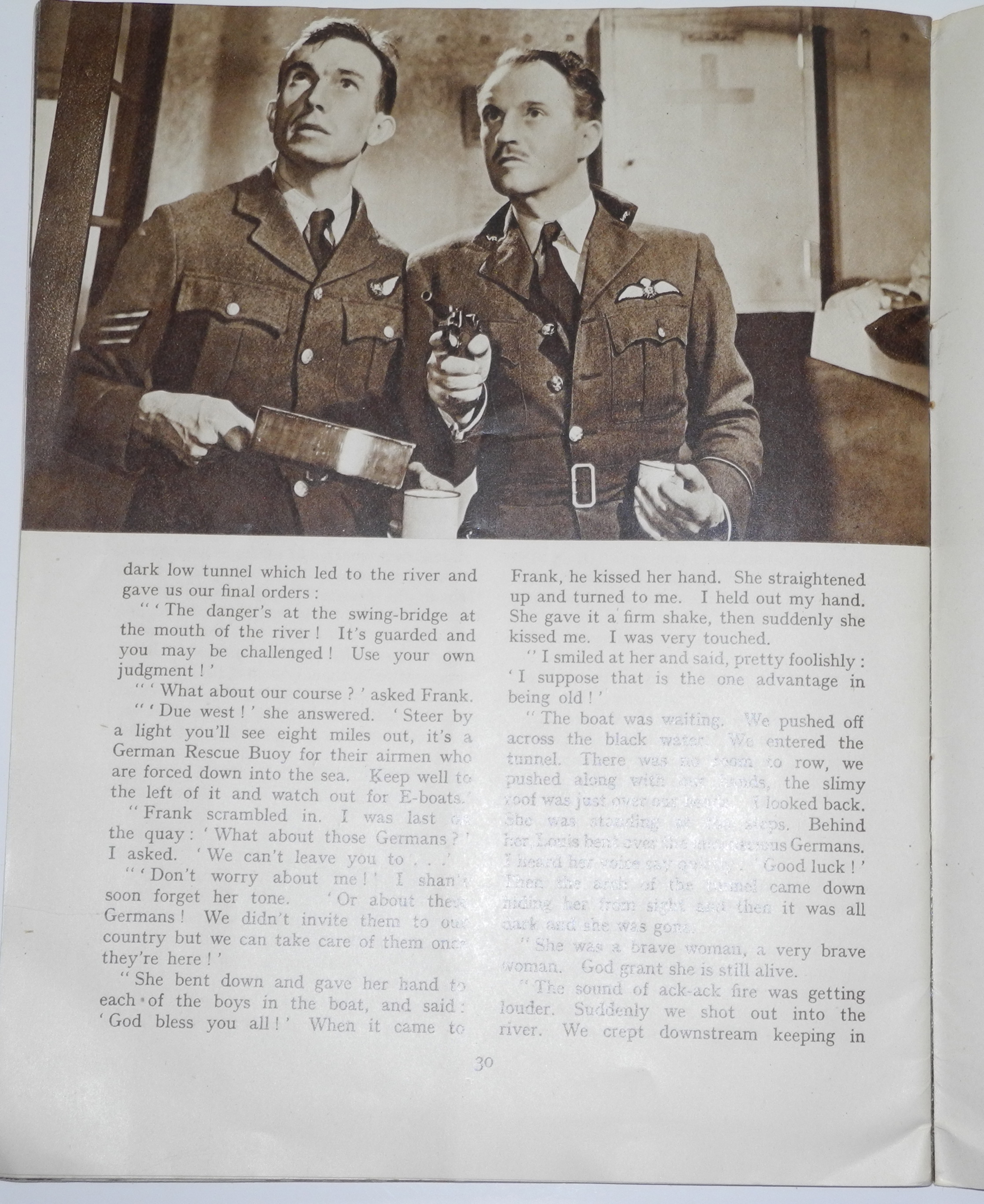 Classic RAF film book / novello