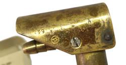 RAF D mask tube bayonet union
