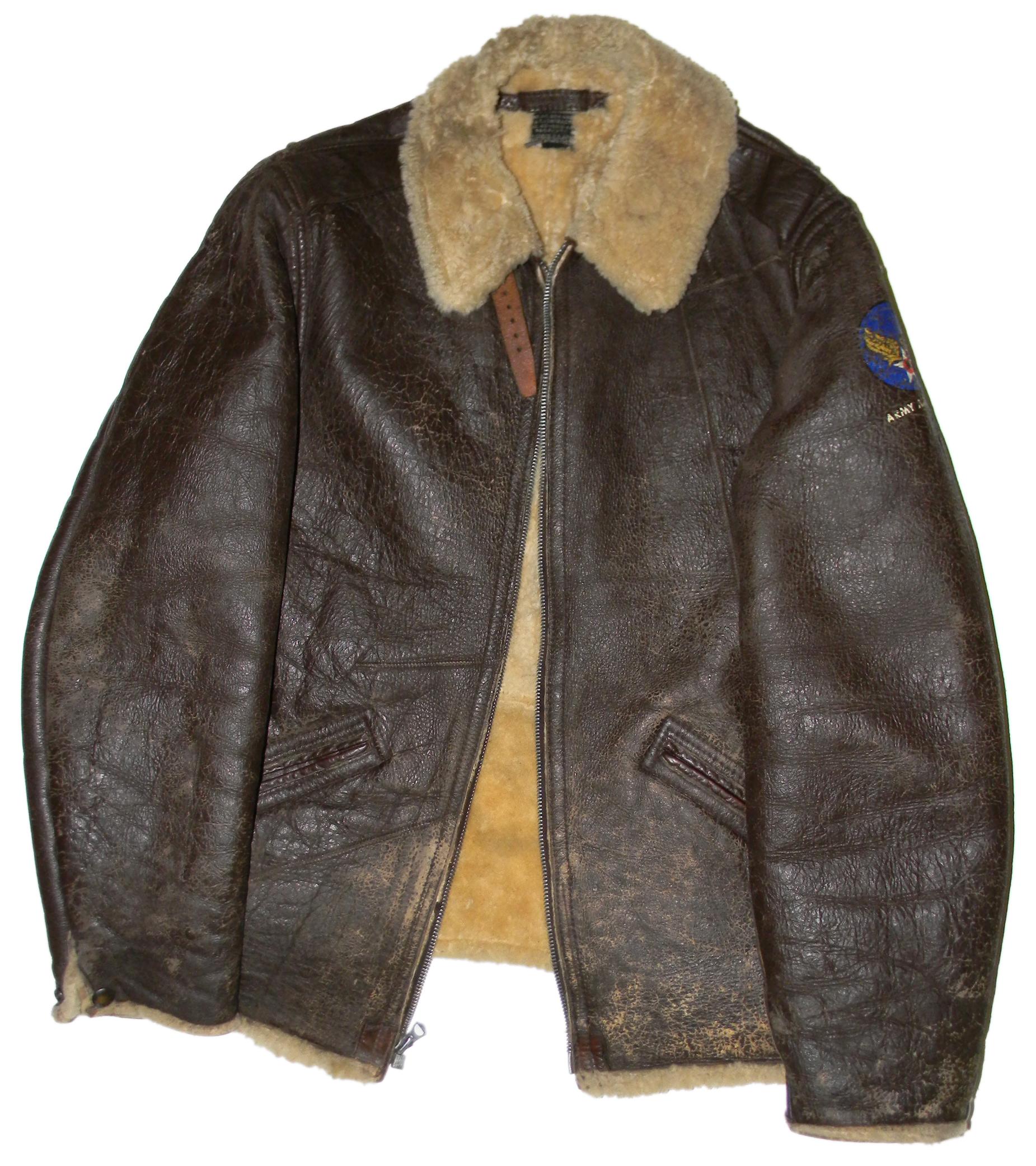 AAF B-6 flying jacket