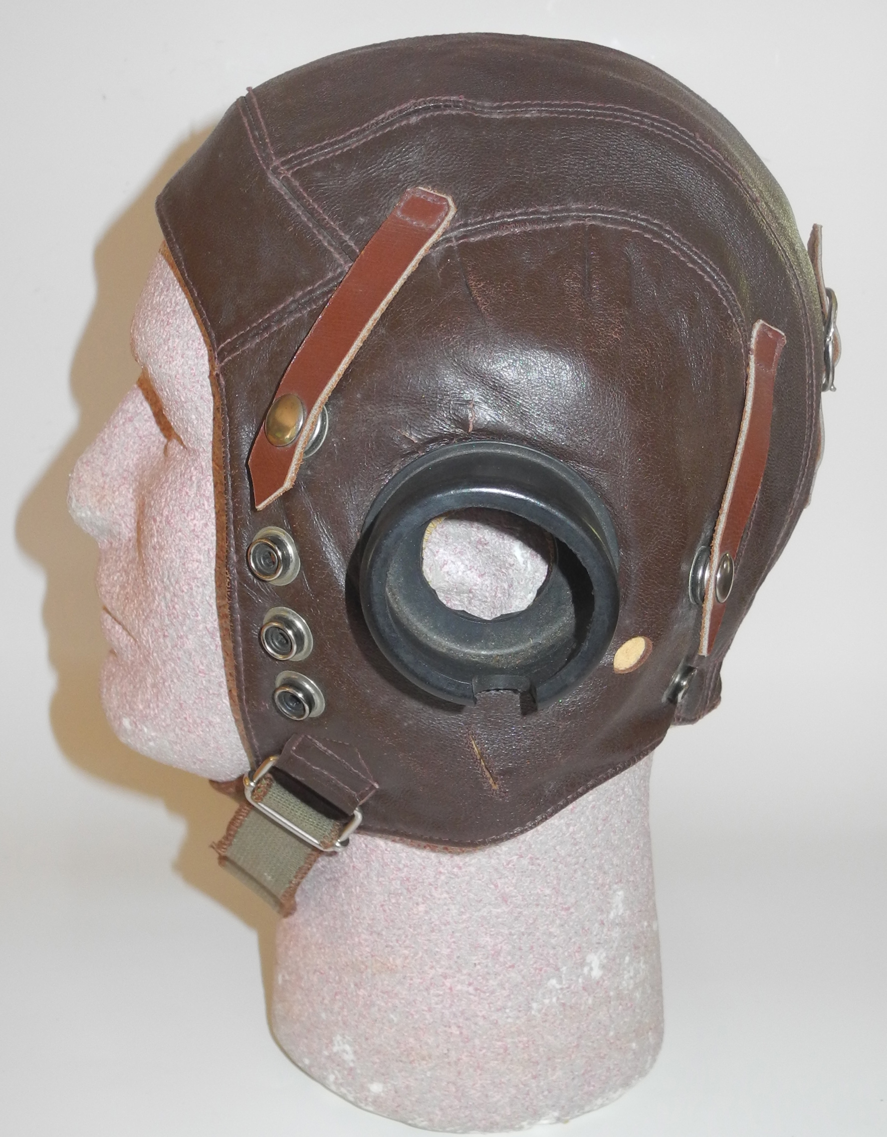 "Italian ""Type C"" flying helmet"