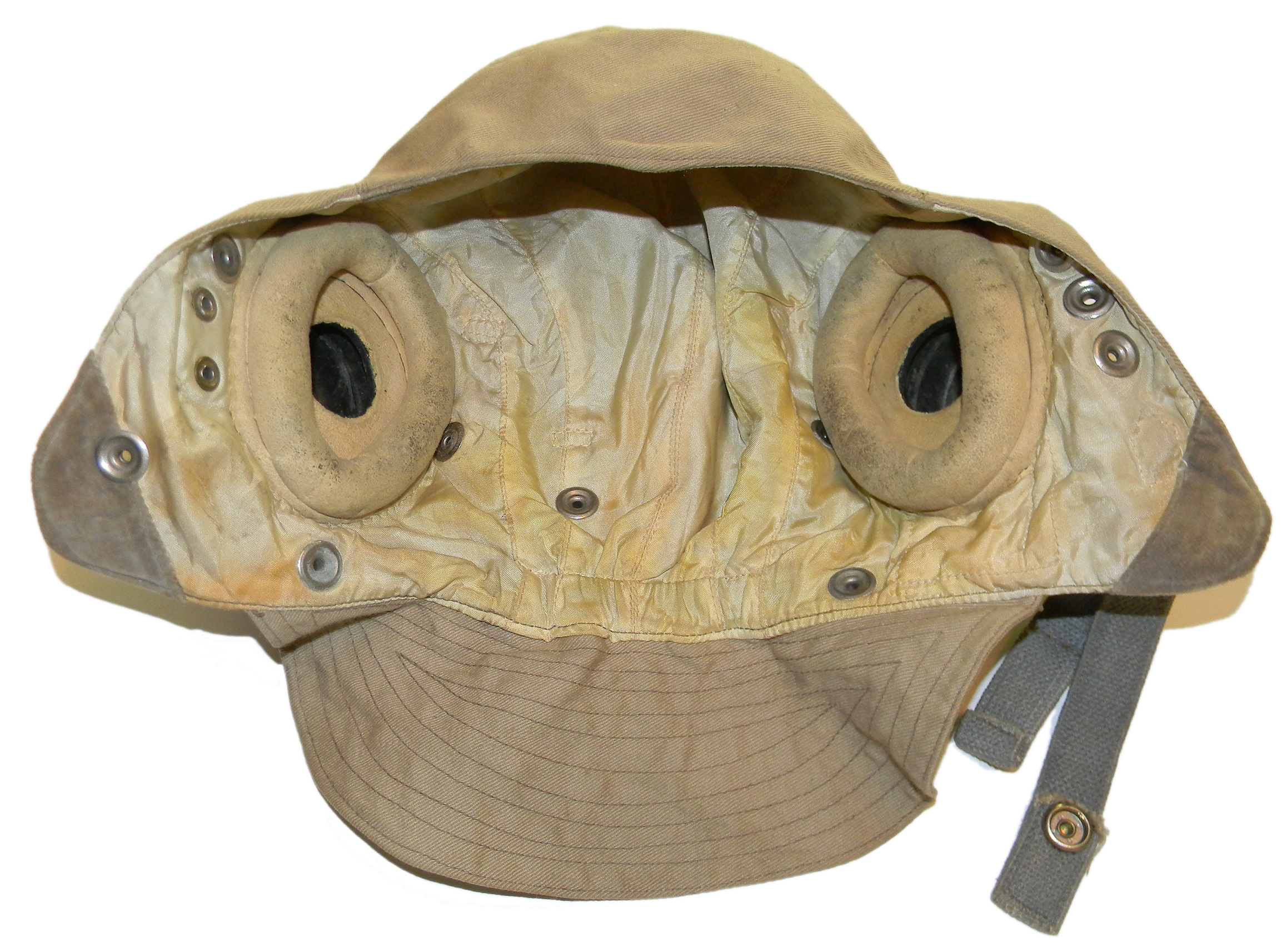 RAF Type D flying helmet