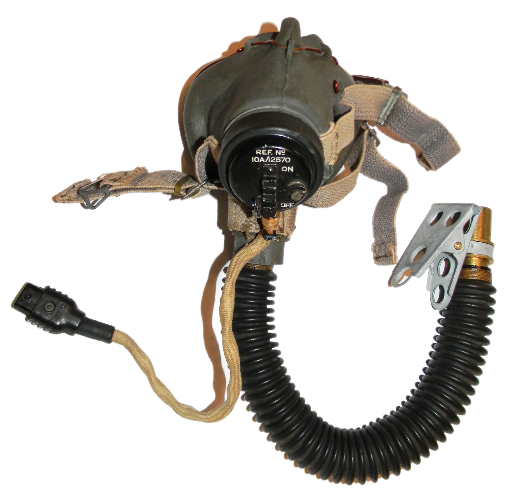 RAF Type G mask + hose