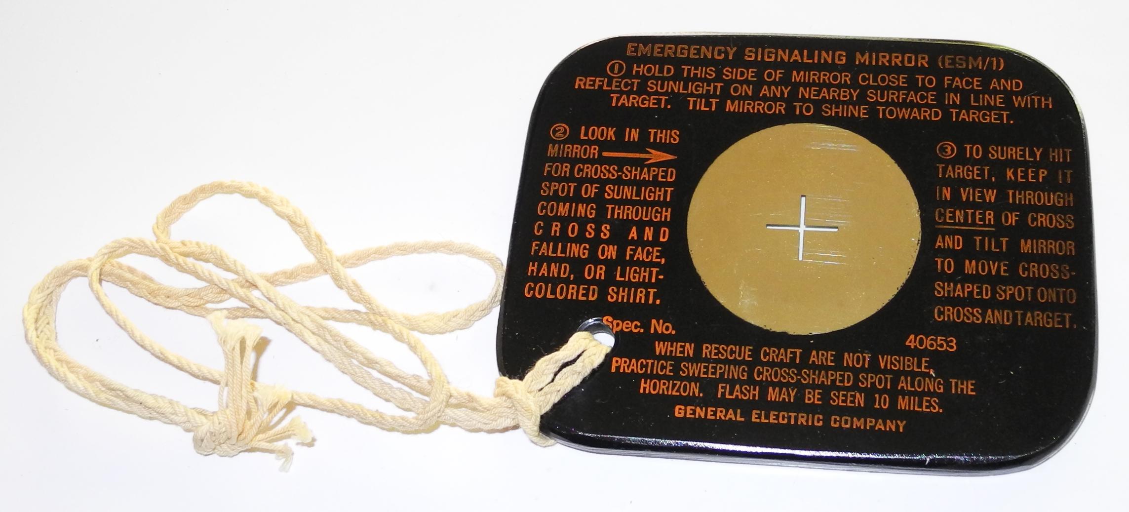AAF Signal Mirror ESM-1
