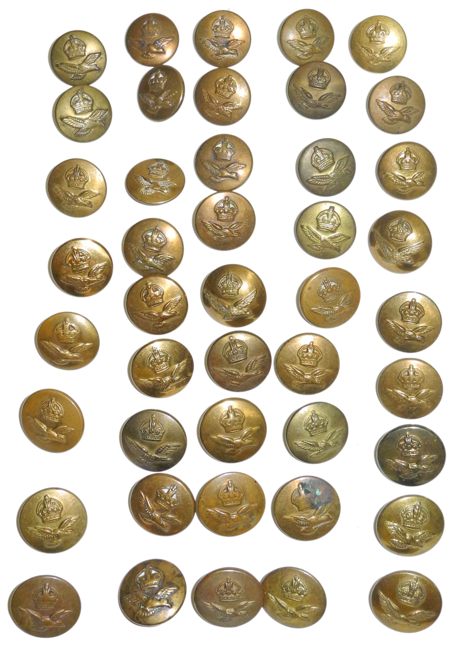 RAF KC buttons