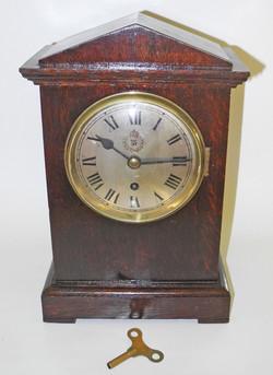 RAF Oak Mantel Clock dated 1937
