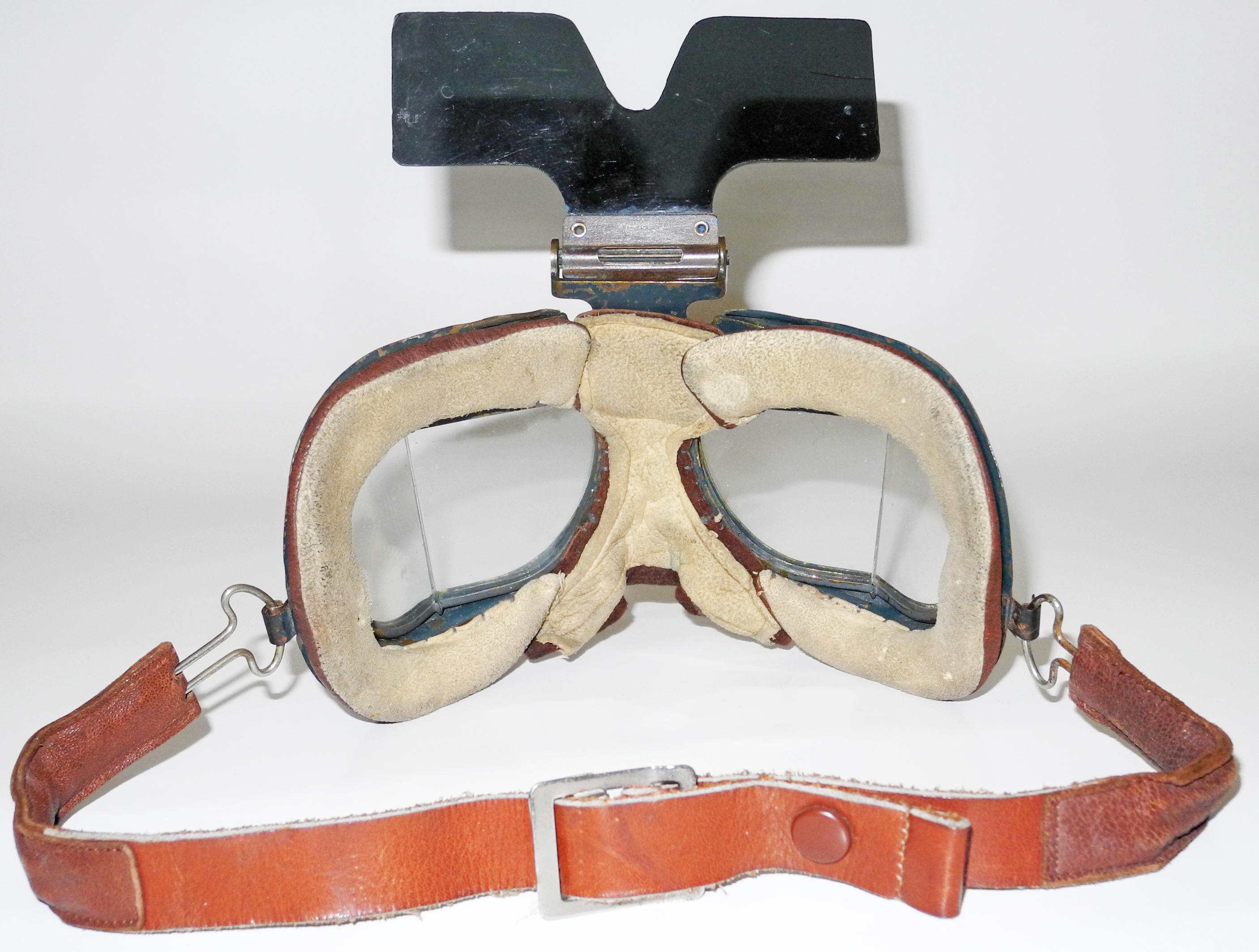 RAF Mk VII goggles with sun screen