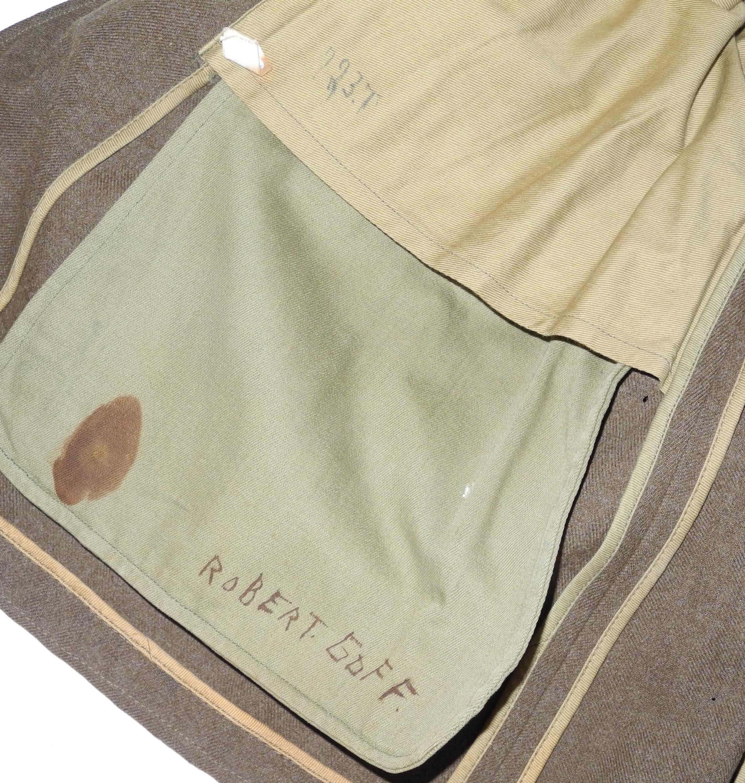 AAF enlisted 20th AF 4-pocket tunic AF 4-pocket tunic