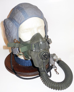 RAF Type F helmet - RARE - 1955 dated