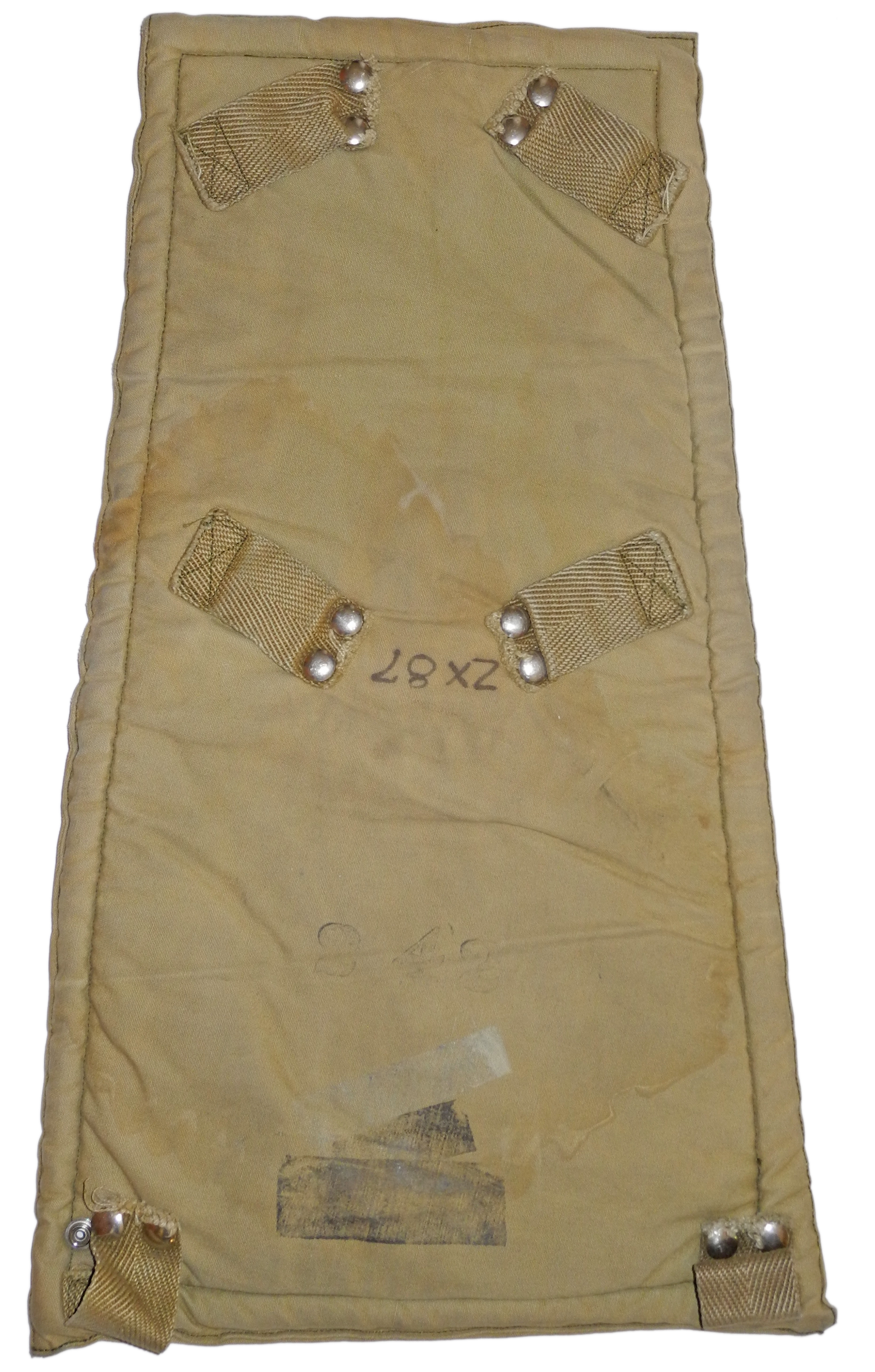 RAF/RCAF parachute back cushion