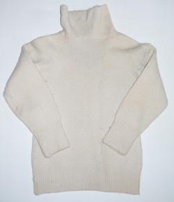 RAF frock, white - wool sweater