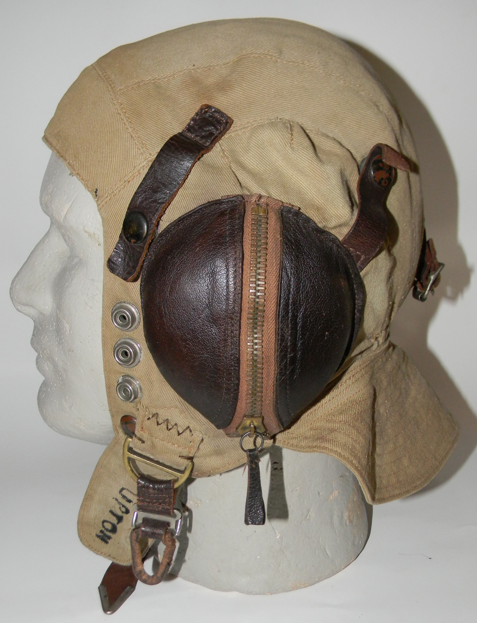 Royal Navy tropical flying helmet
