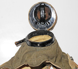 RAF Type D oxygen mask with Type E microphone assembly / Type F connector
