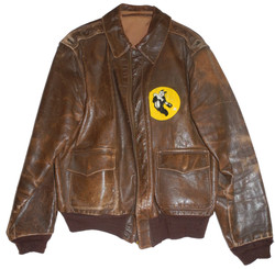 AAF A-2 jacket with patch in very large size