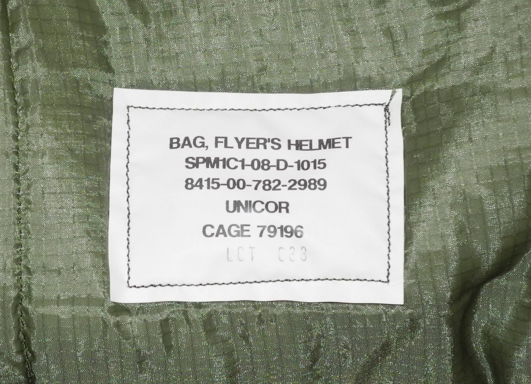 USAF jet helmet bag