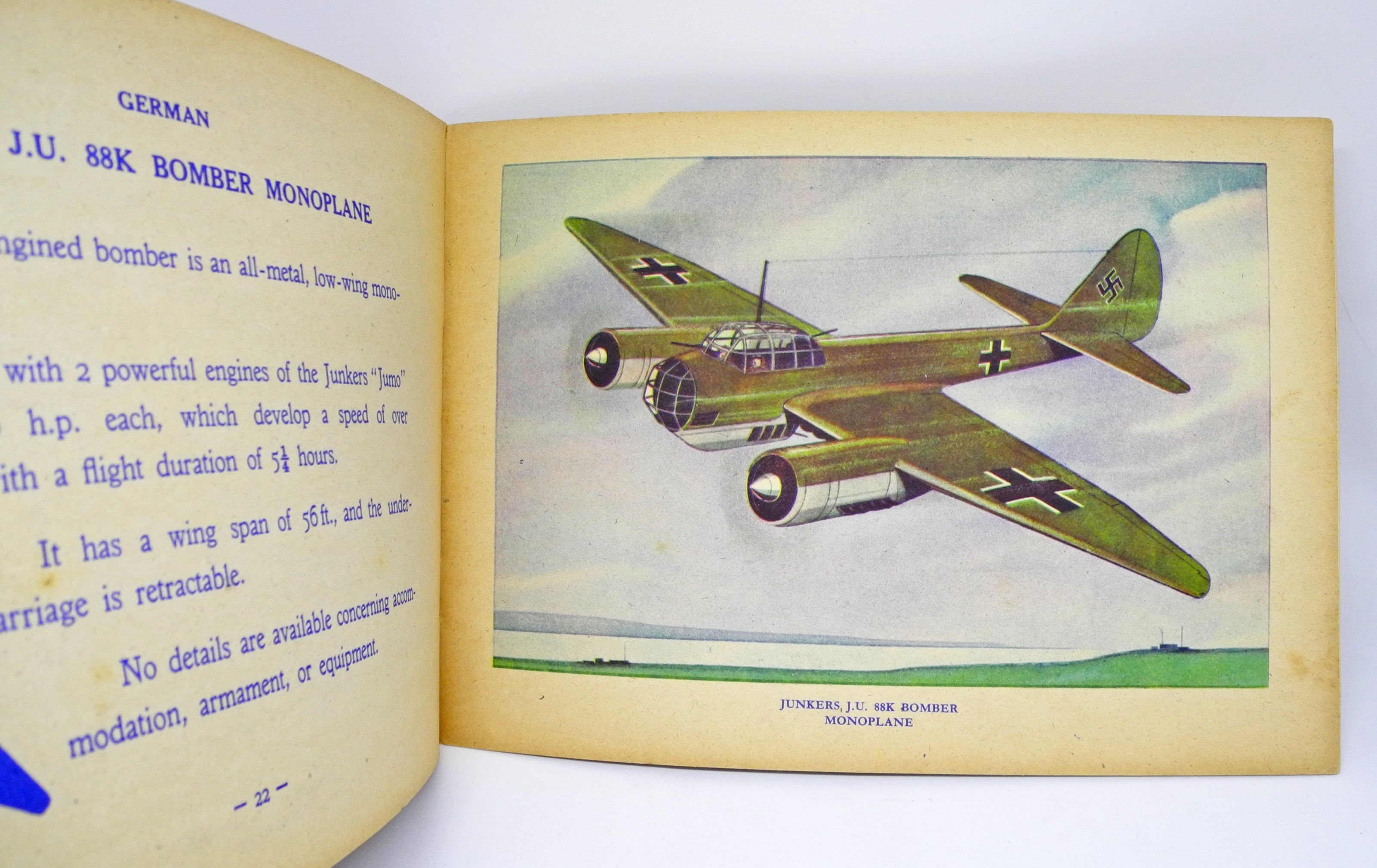 Children's book of WWII BOMBERS