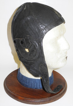 D. Lewis commercial flying helmet as worn by RAF pilots in training