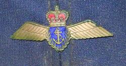 "Cold War era RN Fleet Air Arm ""Baseball"" cap"