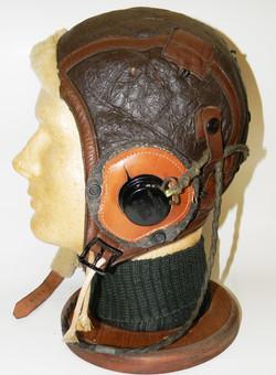 Superb WWII AAF B-6 helmet