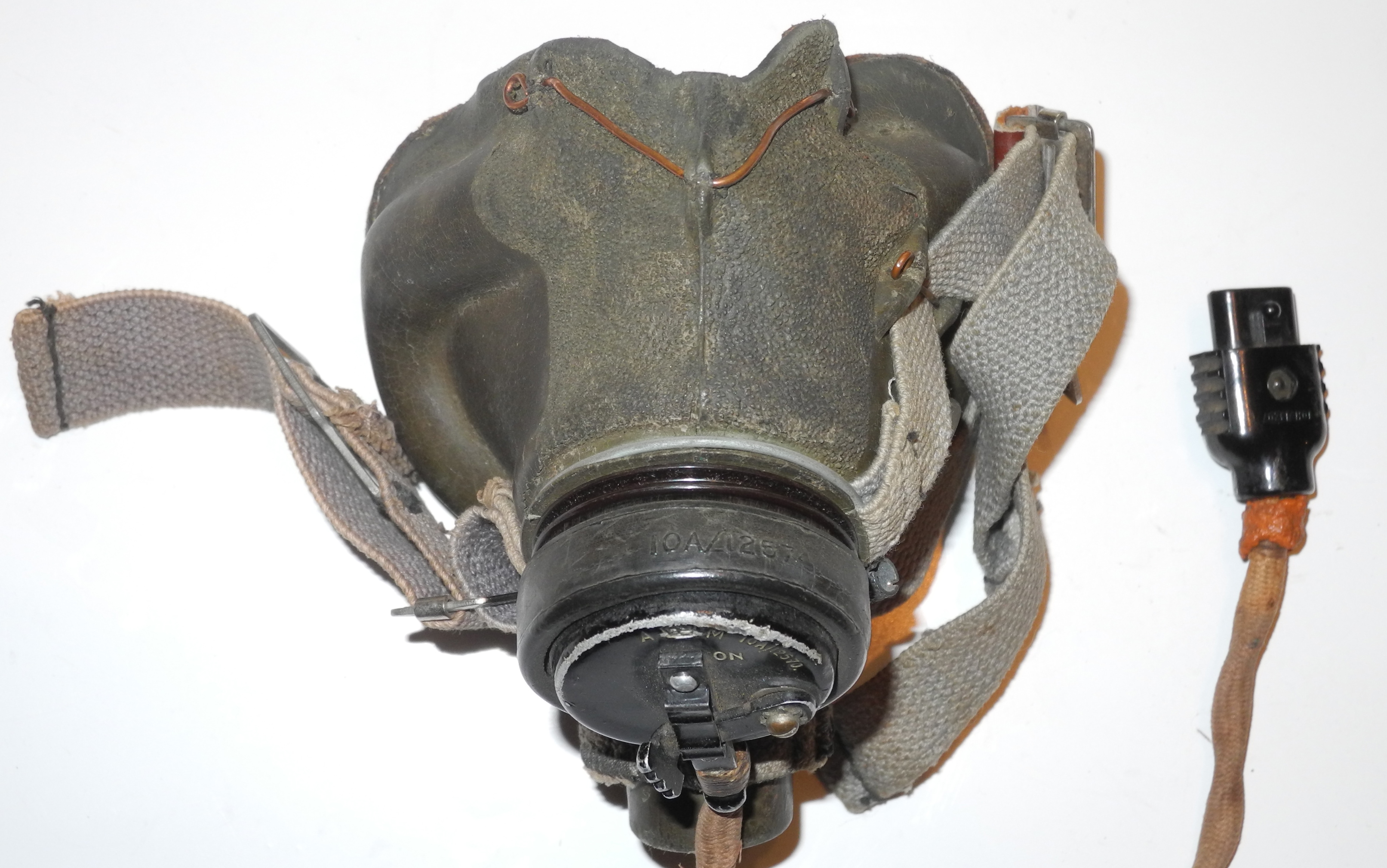Early RAF Type G oxygen mask