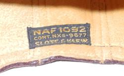 USN NAF 1092 helmet +TH-37 receivers