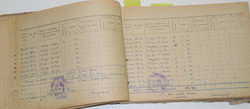 USSR pilot's log book almost 1000 hours