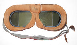 WWII RAF Mk VIII Flying Goggles in box with all accessories