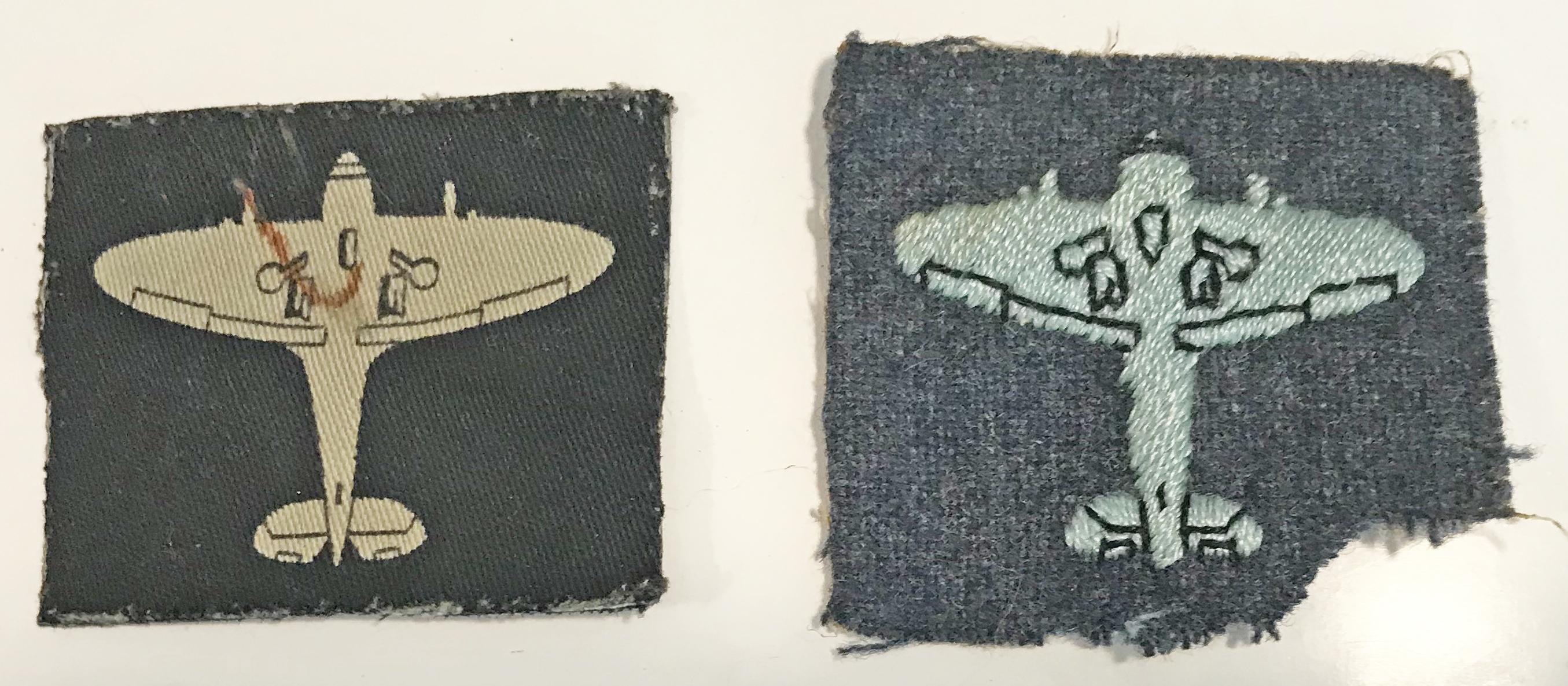 Royal Observer Corps Master Observer  badges x 2