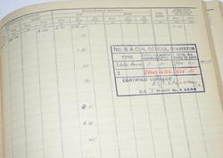 RAF Fighter Pilot Log Book battle of Britain 229 Squadron24