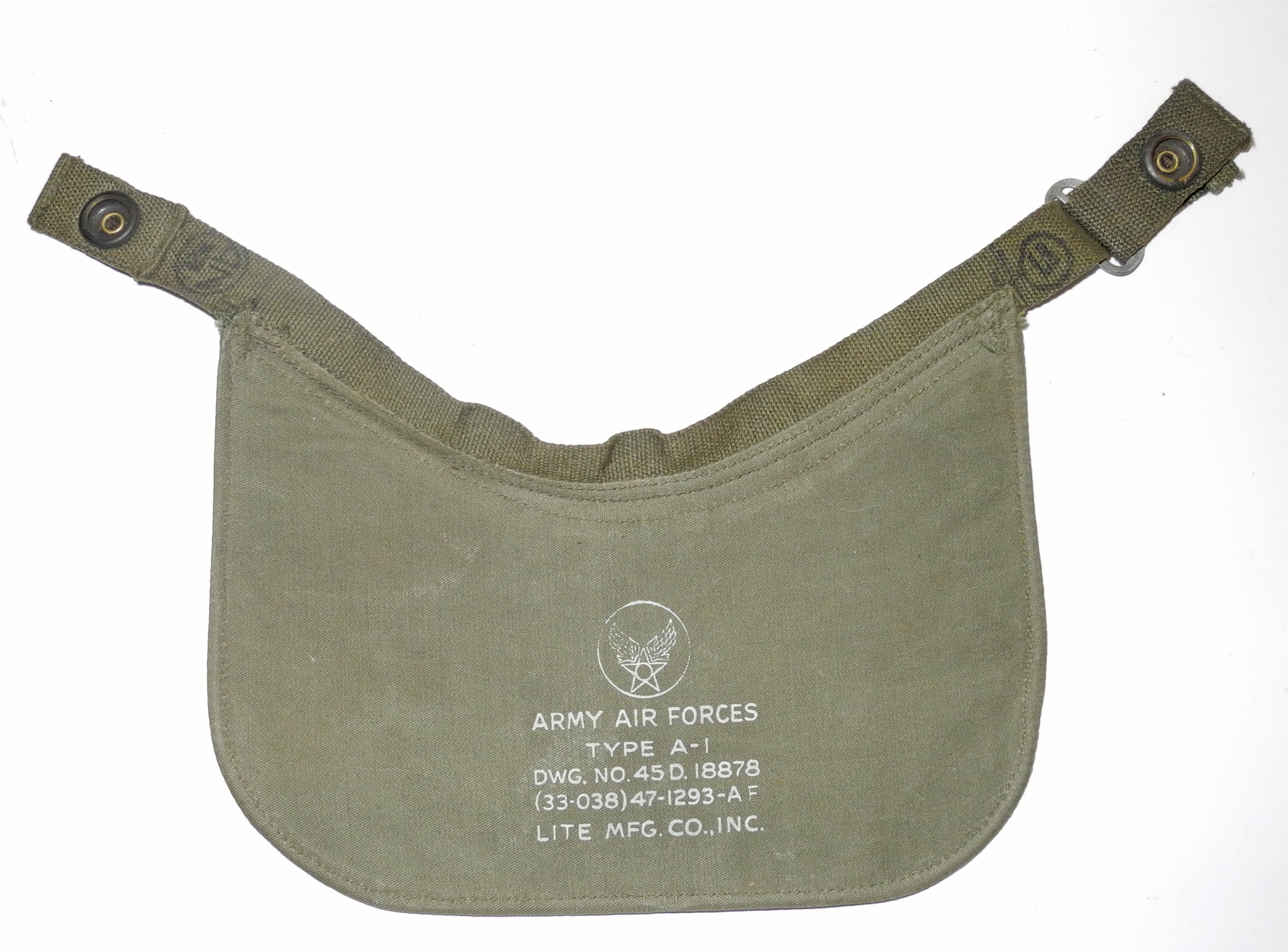 AAF A-11 helmet with A-1 visor