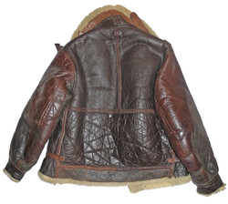 AAF Type B-3 Flying Jacket with painted name to front in very good condition