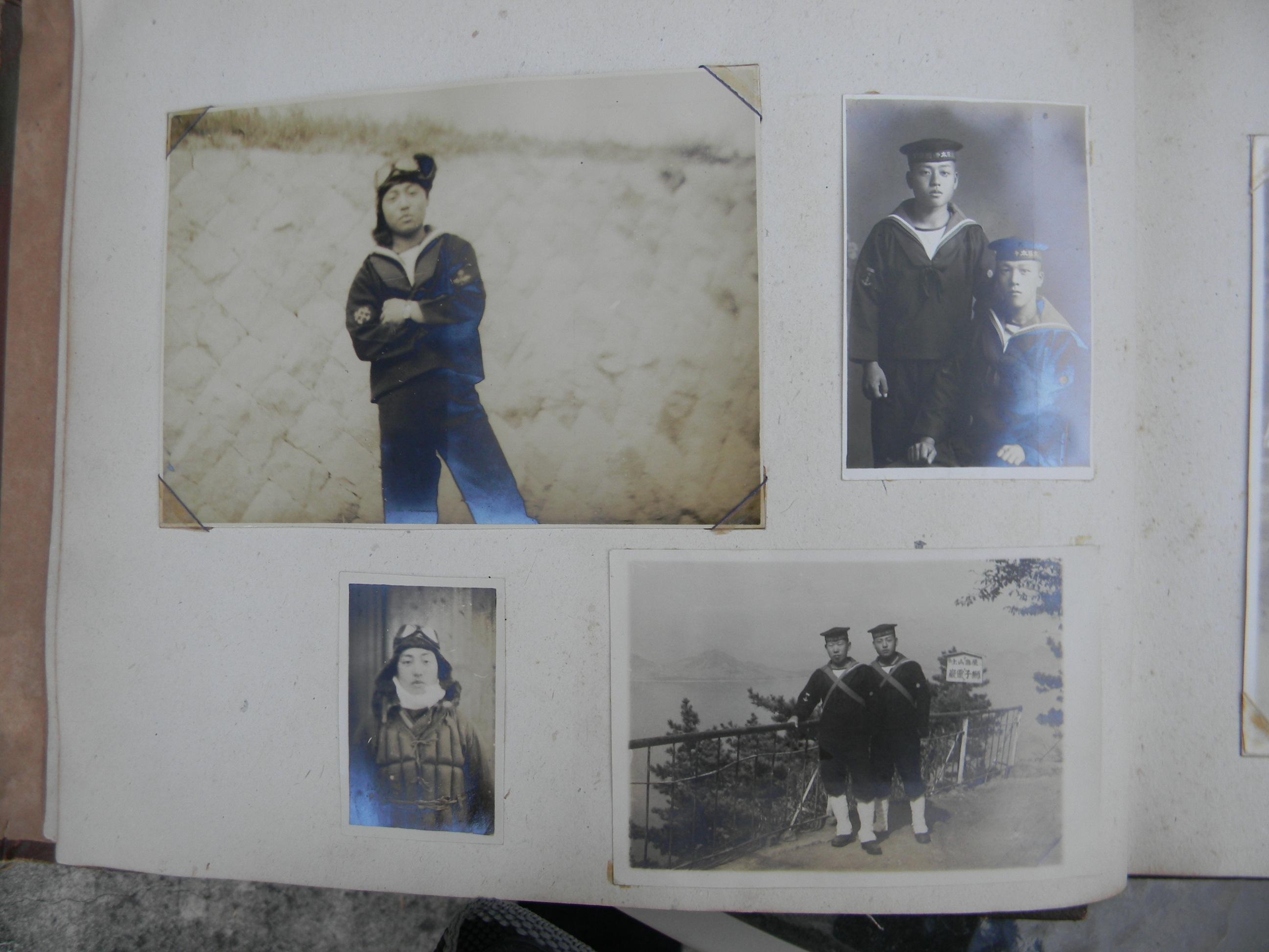 Japanese Navy aircrew photo album 1