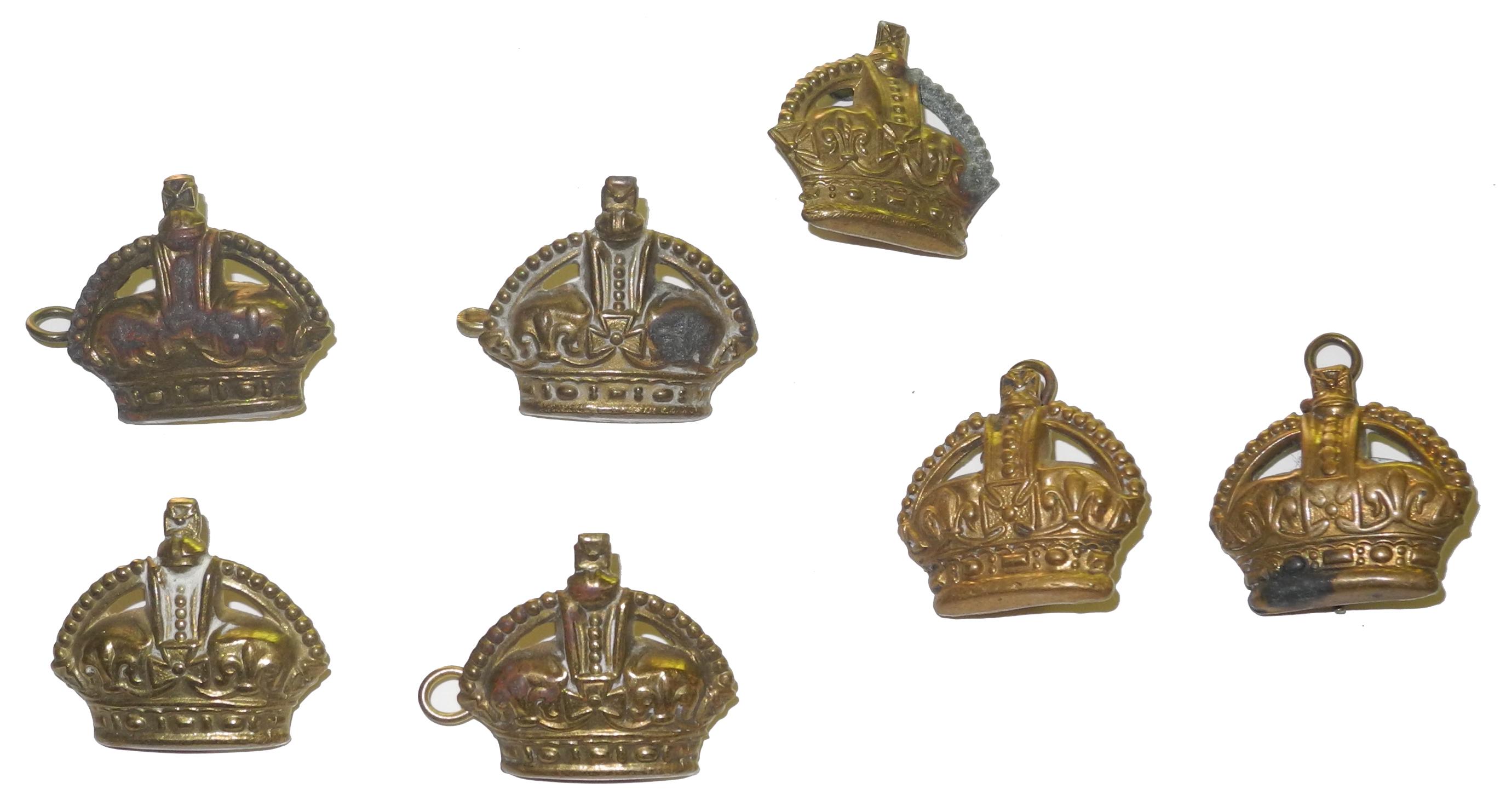 RAF brass flight sergeant's crowns