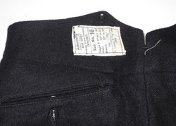 Royal Navy officer's working dress trousers dated 1944
