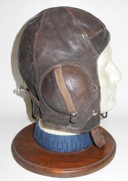 RAF Type B flying helmet, size 3, 1939 dated by Wareings