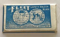 RAF razor blade escape compass