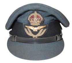 RAF officer's visor cap by MOSS Bros
