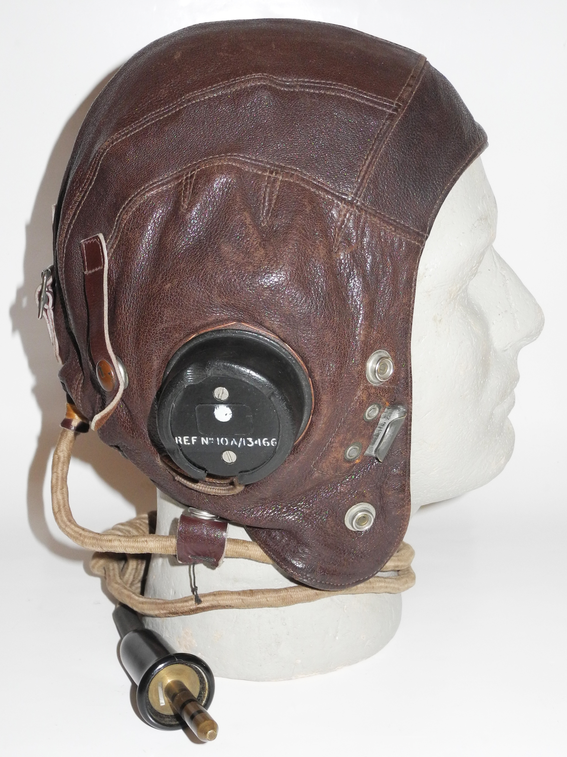 RAF Type C helmet, first internally wired pattern, size 4