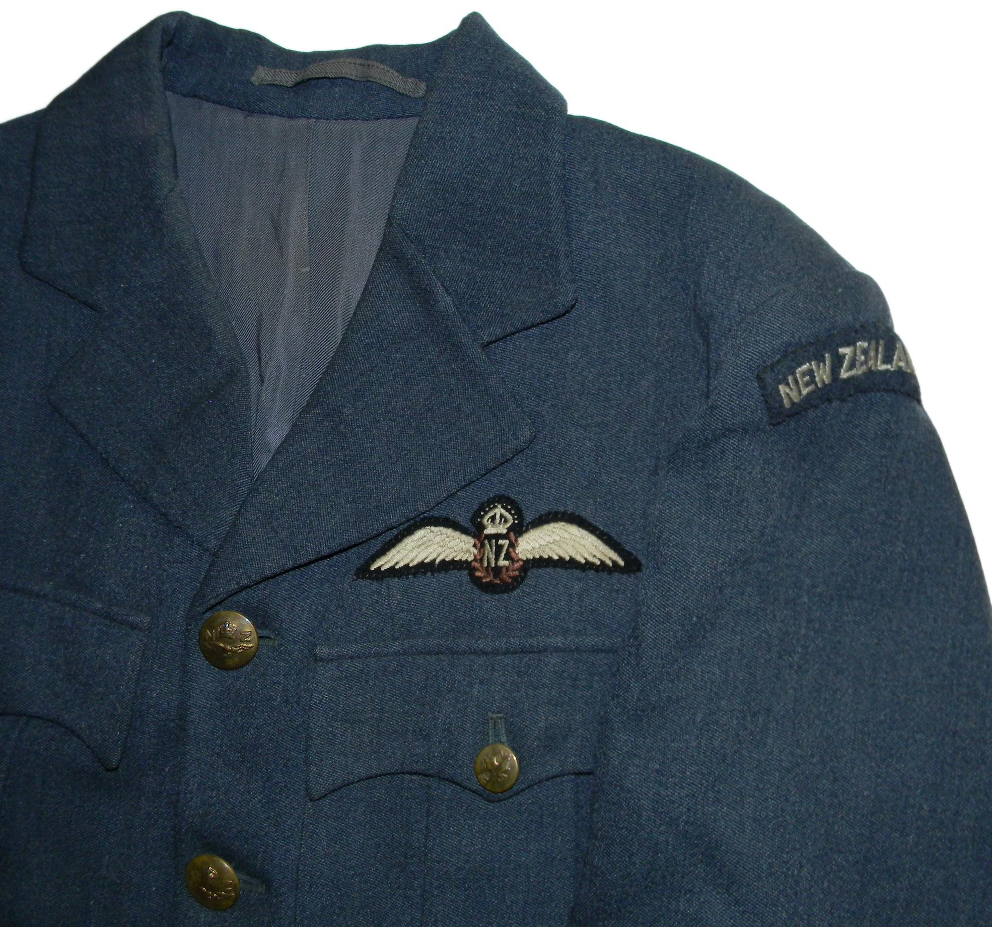 Uniform Chisholm RNZAF