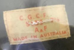 RAAF Air Rank officer's cap