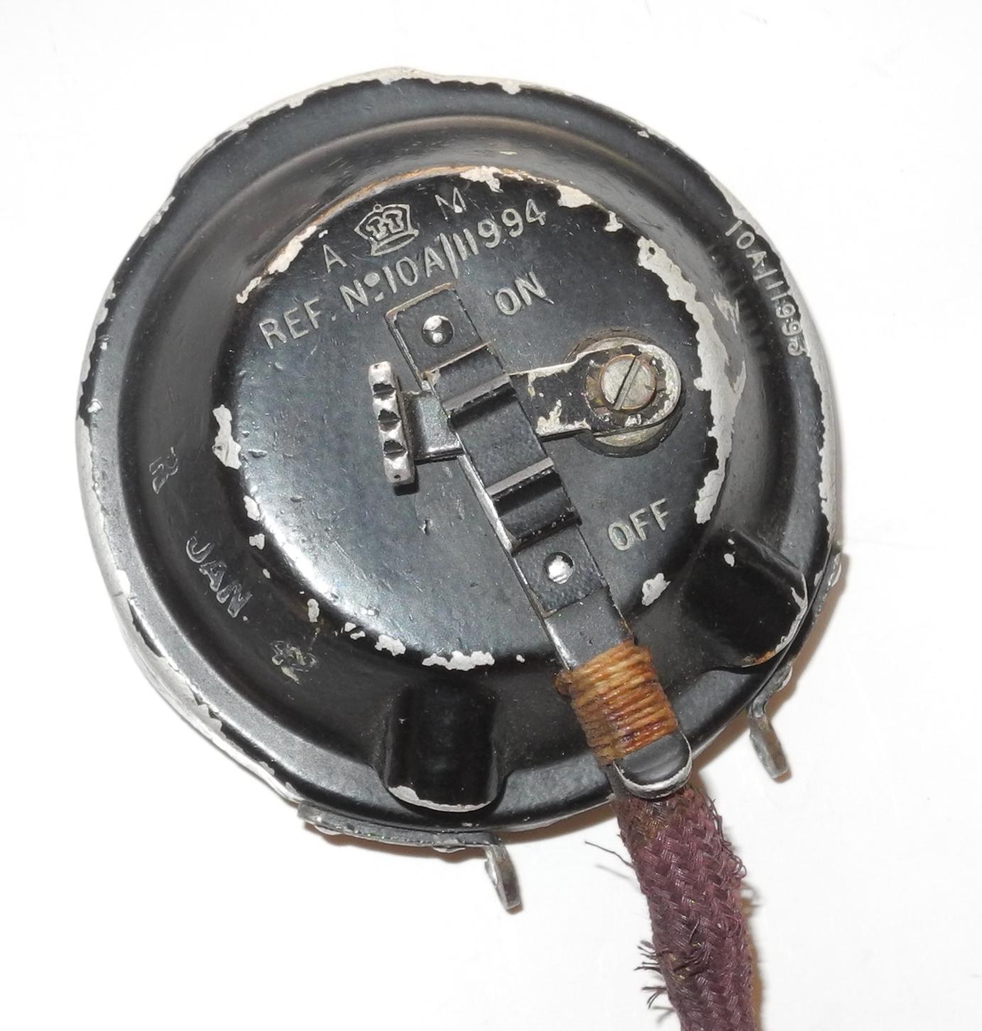 RAF Type 21 Microphone + cord