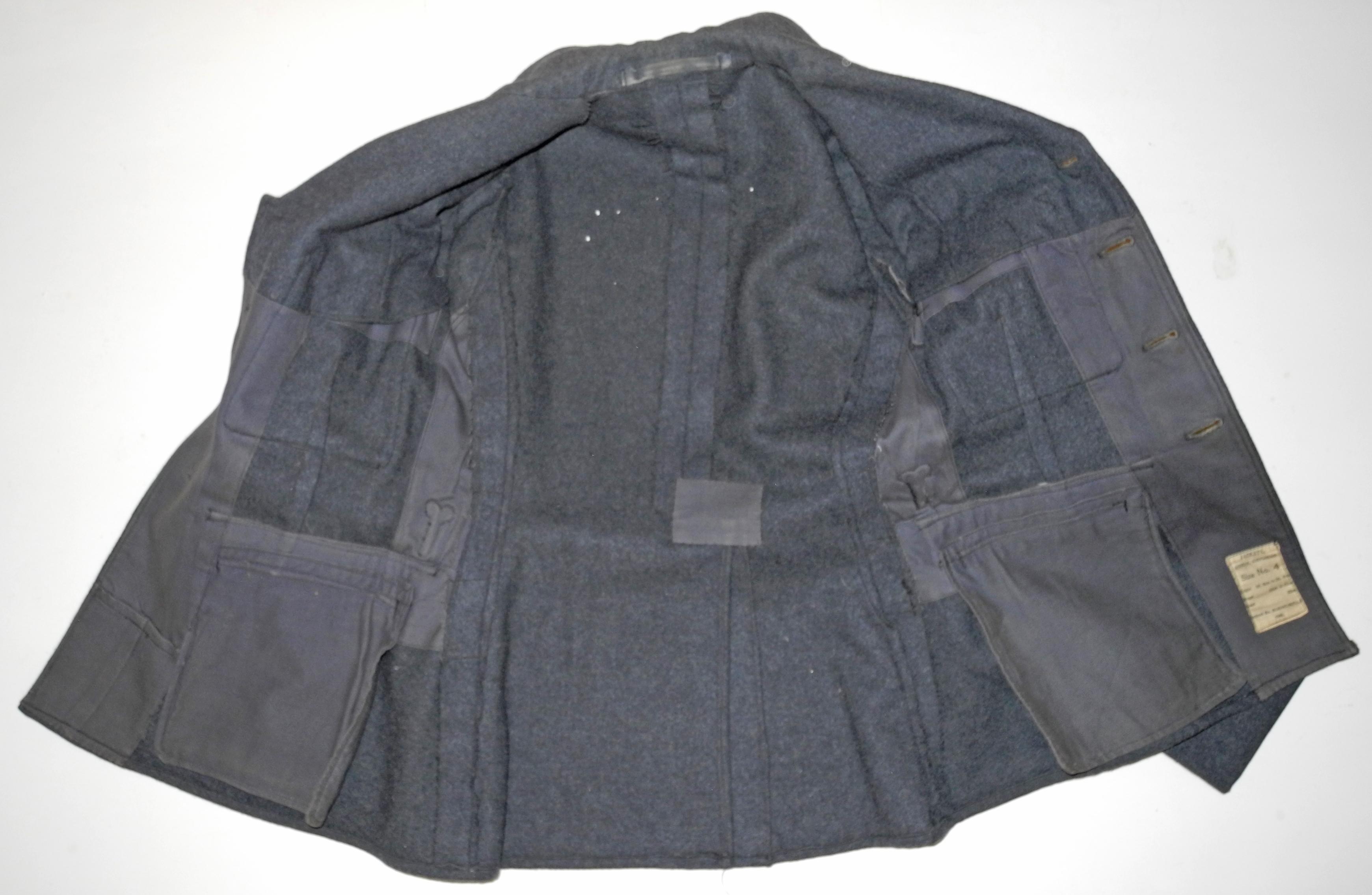 RAF Flight Sergeant pilot's Service Dress jacket dated 1940