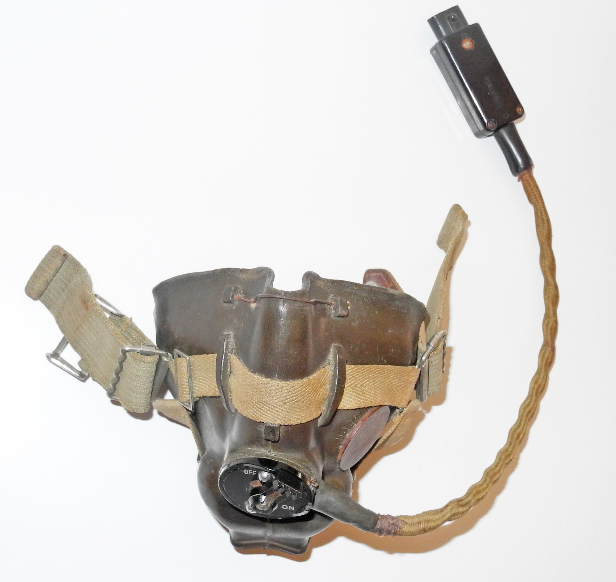 RAF H mask dated 3/45