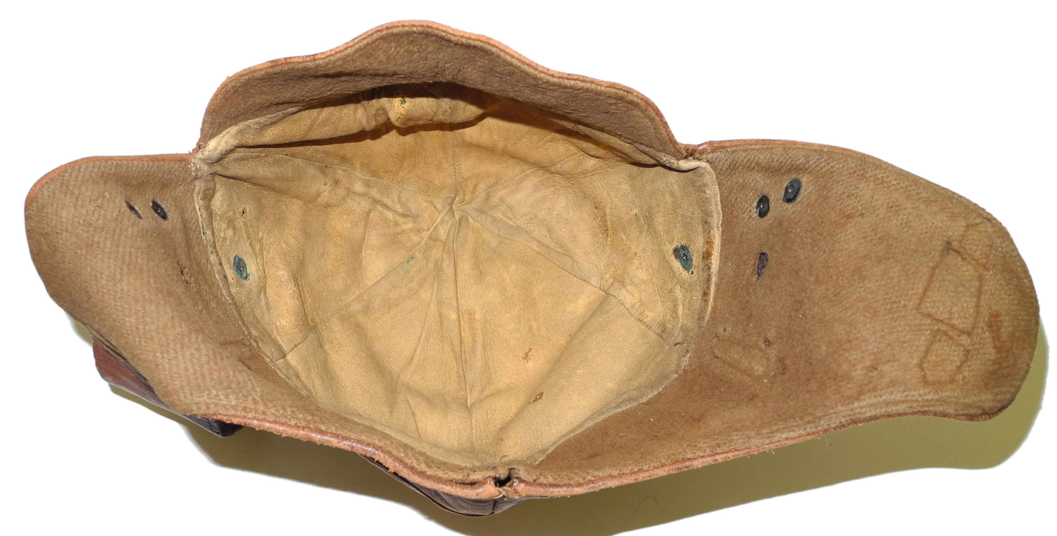 WWI US Air Service Pilot helmet $265