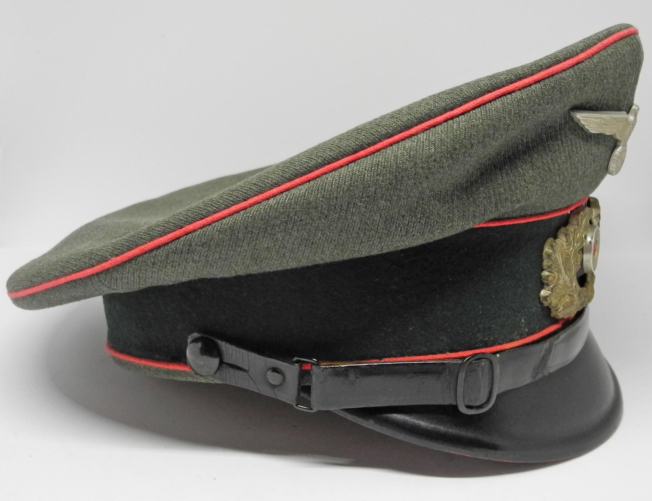 Heer Panzer enlisted man's cap
